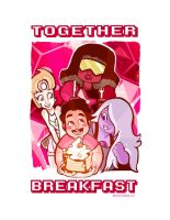 Steven Universe: Together Breakfast by Hyacinth-Zofia
