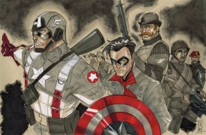 Cap and the Howling Commandos by Hodges-Art