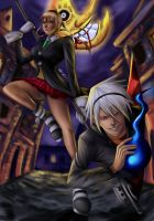 Maka and Soul by Beverii