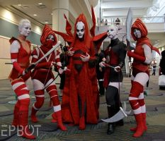 Mother Talzin, Nightsisters, and Asajj Ventress by StungunMoy