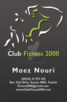 Club Fitness 2000 Carte Visite by Fnayou