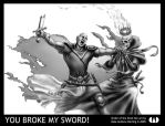 You Broke My Sword by daleicious