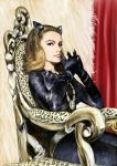 Julie Newmar as Catwoman by botmaster2005