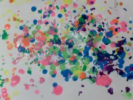splatter paint by sweetchick141
