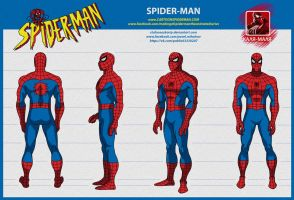 spider man the animated series Spider-Man painted by stalnososkoviy