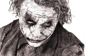 Why so serious? by Hira-M