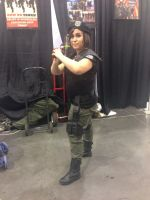 Phoenix Comicon 2014 Resident Evil Jill by Demon-Lord-Cosplay