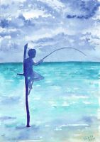 Fishing in Sri Lanka 2 by Shiaty