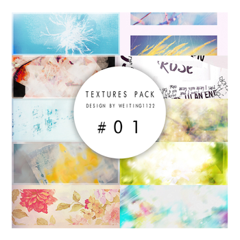 Textures Pack 01  By Weiting1122 by weiting1122