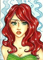 ACEO: Midori by amazonitte