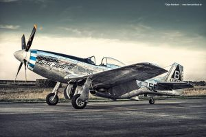 North American P-51D Mustang by AmericanMuscle