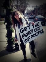 GET THE MONEY OUT OF POLITICS by SunshinesGF