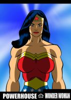 Wonder Woman is a Powerhouse by RODCOM1000