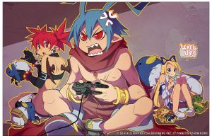 Disgaea: game frustration by finni