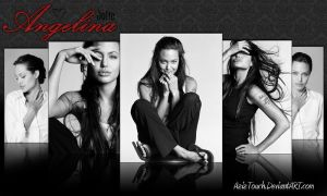 Angelina Jolie Wallpaper by AzizTouch