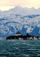 Alaska Lighthouse PHotograph by picturechick88