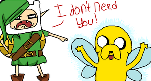 Link- Adventure time! by YaoiRadio