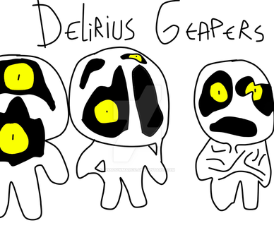 TBOI Enemy Idea: Delirius Geapers by ShadowMarco