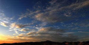 Temecula Sunset After Glow by PzlWksMedia