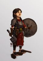 Halfling Cleric by Haclif