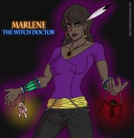 Marlene: The Witch Doctor by CMartworkXL