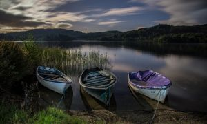 Boats on the water by BusterBrownBB