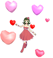 MMD-Floating hearts DL by Shioku-990