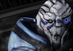 Garrus Vakarian - Time-lapse Painting by SE by erixonstefan