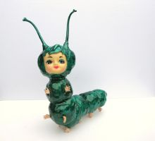 Alice the Big Eyed Caterpillar by BeatUpCreations