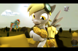 [SFM] Derpy Hooves by Moonight118