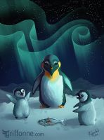 Penguins by joanniegoulet