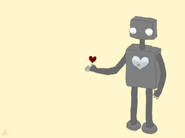 untitled robot 2 by hannabearr