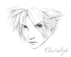 Cloud Strife -Final Fantasy 7- by ZeonFlux