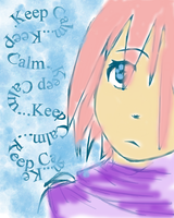 keep calm, by nebotte35
