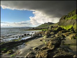 Staffin Bay by novakovsky