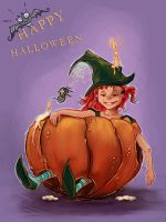 halloween character by selectik