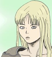 Claymore Fanart colored by Q99