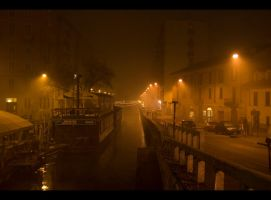 foggy and desolated Xmas Eve by martasmarta