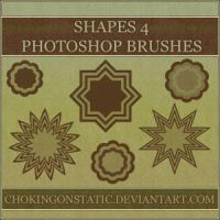shape brushes 4 by chokingonstatic
