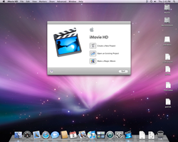 iMovie 06 on Leopard by fighterxaos