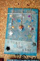 Steal The Stars 2 ATC by lonesomeaesthetic