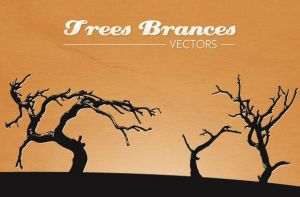 WG Trees Branches vectors by wegraphics