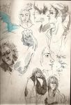 a page of my sketchbook by crazylilfreak