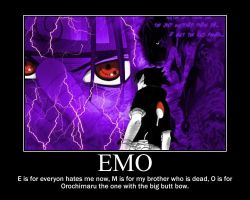 EMO song with sasuke by Phantomhivevillage