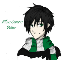 HP: Albus Severus Potter by winter-monsoon