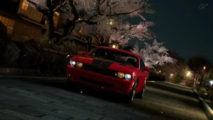 Dodge Challenger SRT8 in Kioto by Frytkasis