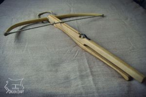 Pushpin crossbow, based on find from Lillehus by Jorgen-Craft