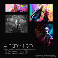 4 Psd's by rl-O