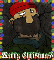 Merry Xmas from Hobo Claus by JinjoJess