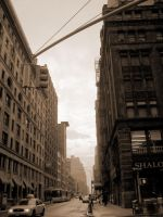 New York in Sepia by absolut-